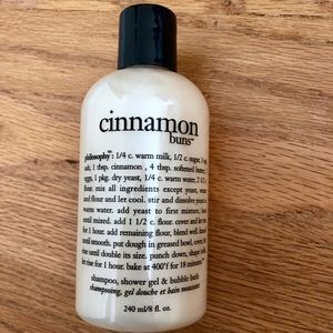 5/$25 Philosophy Cinnamon Buns shower gel
